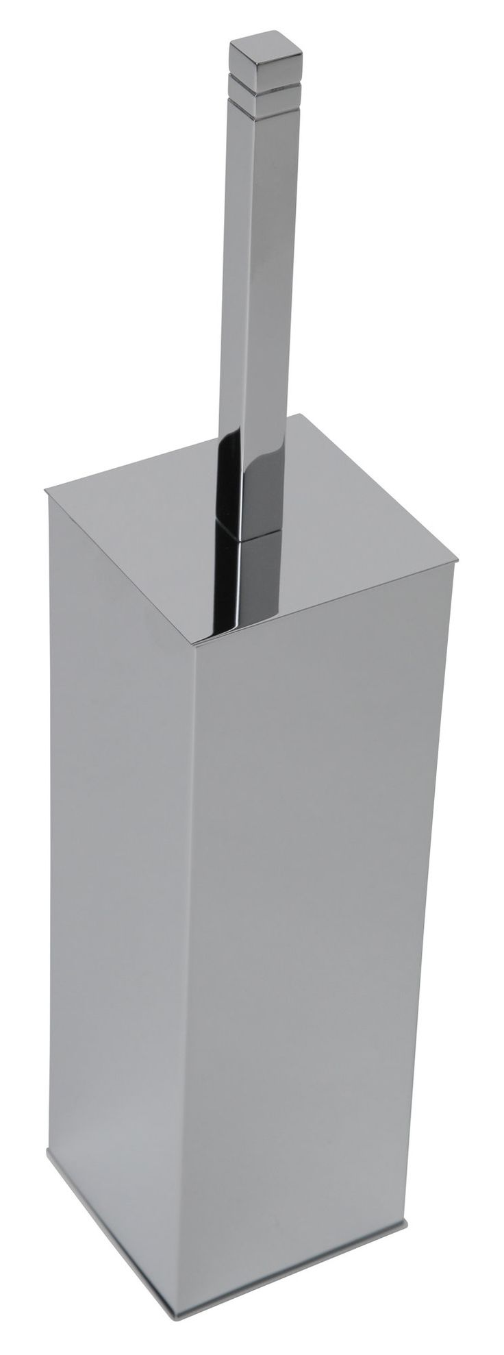 Cubis Plus Free Standing Toilet Brush and Holder