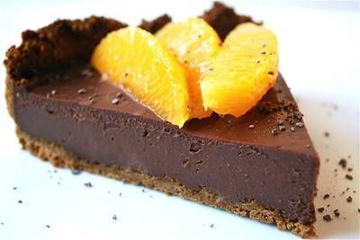 Chocolate Cheesecake with Hints of Orange (and other Lactose-Free recipes by Rachel Ray)