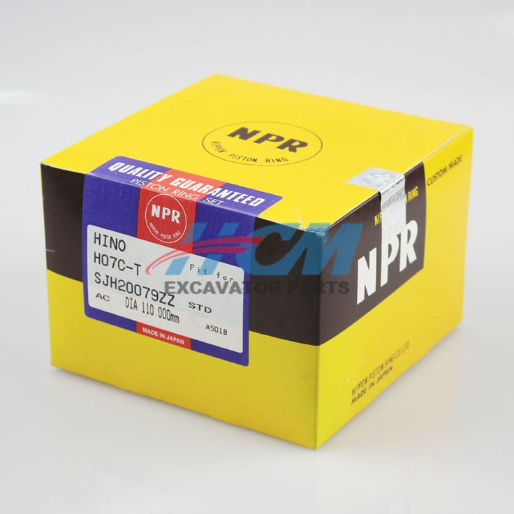 Engine: H07CT  Part Name: Piston Ring   Part No.: SJH20079ZZ  Size: DIA 110mm STD