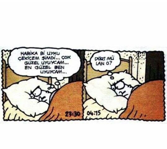 Derken hep böyle uyurum