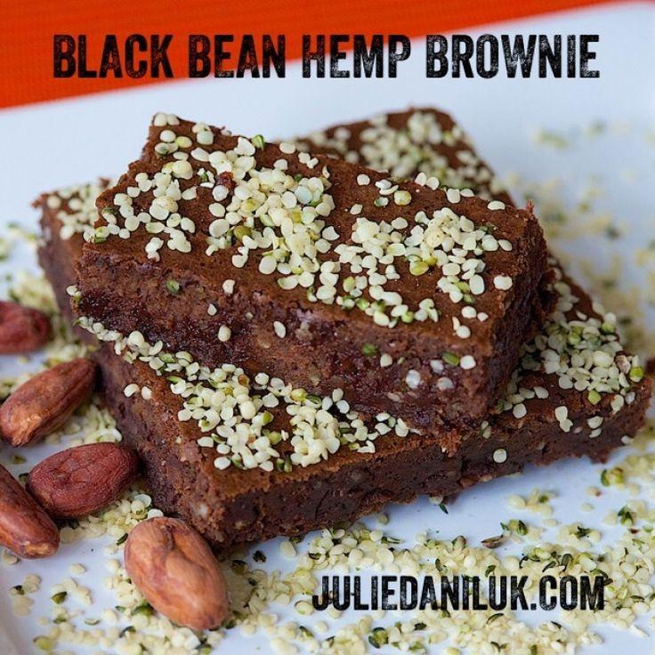 Gluten-Free Hemp Brownies by JulieDaniluk.com