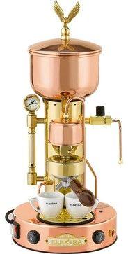 Elektra Micro Casa Semiautomatic Espresso Machine - traditional - Espresso Machines - 1stincoffee