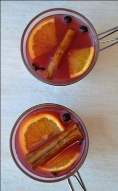 Mulled Juices - Non-Alcoholic MulledWine - Healthy, Tasty & Easy Recipes on a Budget - Gourmet Mum