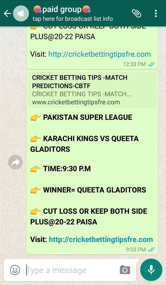 CRICKET BETTING TIPS -MATCH PREDICTIONS-CBTF,PRO-KABADDI WINNING TIPS,SESSIONS,LAMBI,FIXED MATCH REPORTS,CRICKET MATCH RESULTS,CPL, IPL, BPL, PSL, RAMSLAM, BIG BASH, ALL INTERNATIONAL, DOMESTIC LIVE AND NON LIVE MATCH WINNING AND FIXED REPORTS(CBTF). CRICINFO,CICBUZZ NEWS,LIVE RATE UPDATES,LIVE MATCH,BAZIGAAR REPORTS,EXPERT CRICKET BETTING TIPS,FREE CRICKET MATCH WINNING REPORTS,,MATCH PREDICTION,CRICFROG,CRICBAT