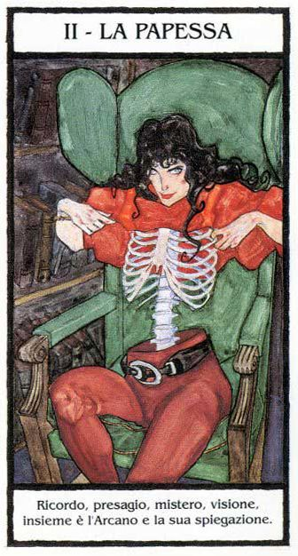 The Popess (The High Priestess) - Dylan Dog: Tarocchi dell' Incubo