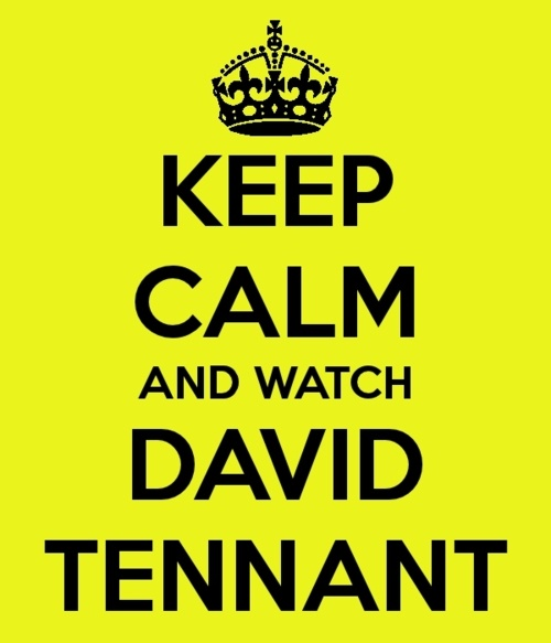 Okay. #DavidTennant