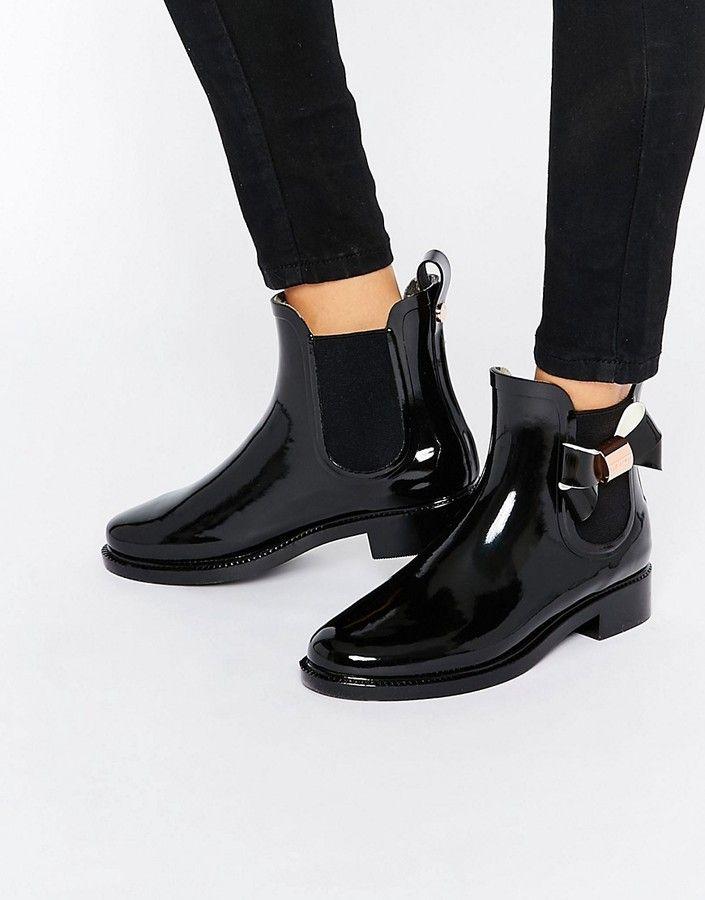 Ted Baker Erlfyn Bow Detail Short Wellington Boots