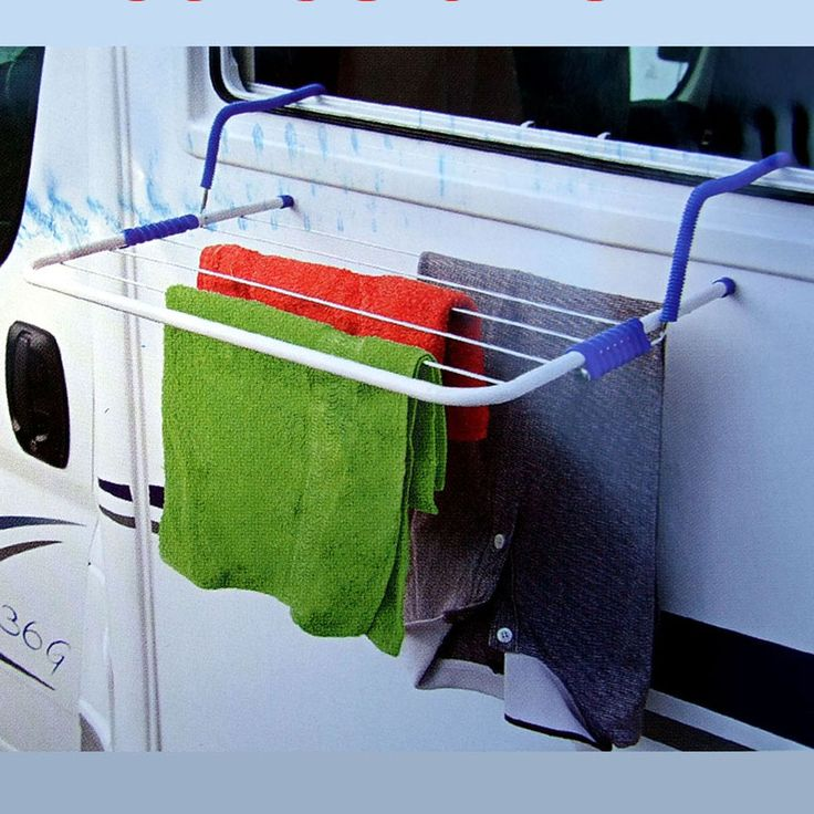 CLOTHES AIRER DRYER HOOK ONTO TO WINDOW CARAVAN MOTORHOME BOAT VW CAMPER etc in Vehicle Parts & Accessories, Motorhome Parts & Accessories, Accessories | eBay