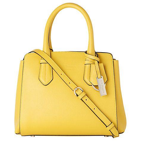 Buy L.K. Bennett Cassandra Leather Tote Bag, Sunshine Online at johnlewis.com