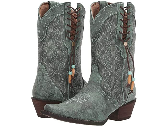 Durango 10 5 Crush Triad Native Blanket Stitch Cowgirl Boots Boots Blanket Stitch