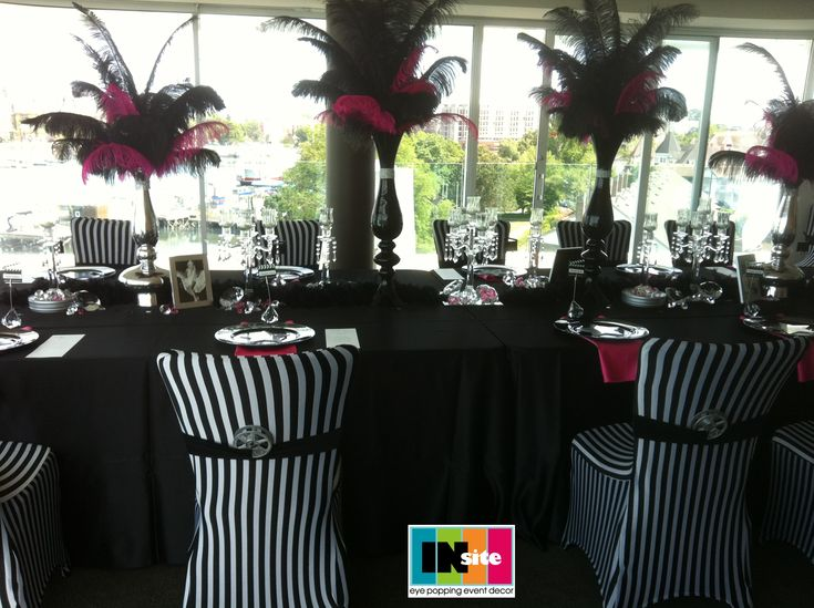 Chair Covers Black And White