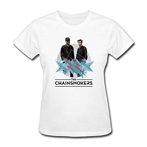SchrittGlucklich Women's The Chainsmokers Say My Name T-shirt available at http://www.bestboybandmerchandise.com/product/schrittglucklich-womens-the-chainsmokers-say-my-name-t-shirt/
