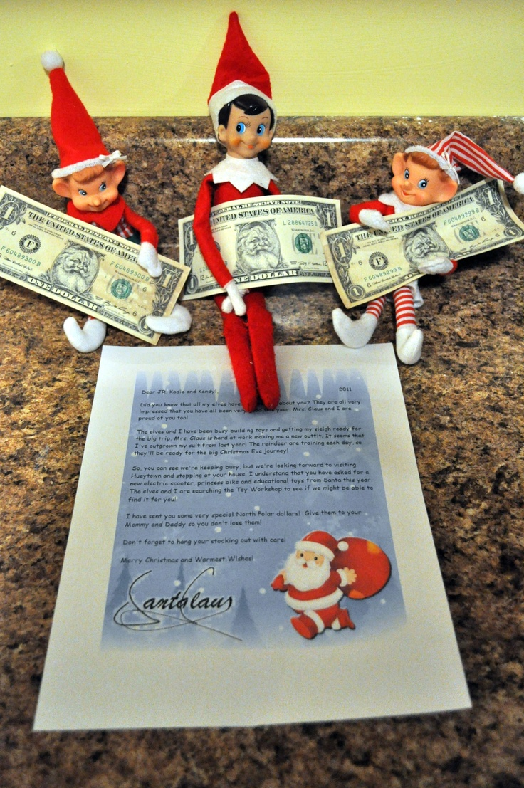 17 Best Images About Elf On The Shelf Activities For