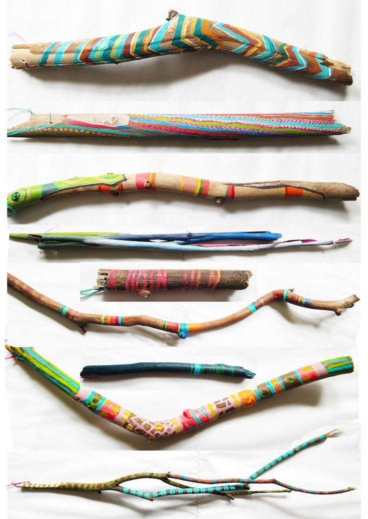 M s de 25 ideas incre bles sobre ramas pintadas en - Ramas decoradas ...