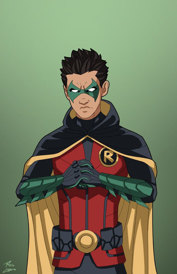 Robin 5.0 (Damian Wayne) commission by phil-cho on DeviantArt