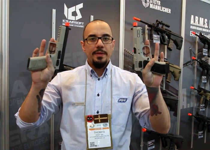 ASG Urban Grey CZ P-09 & SP-01 Pistols