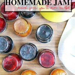 Homemade Jam without pectin   a simple recipe from NellieBellie
