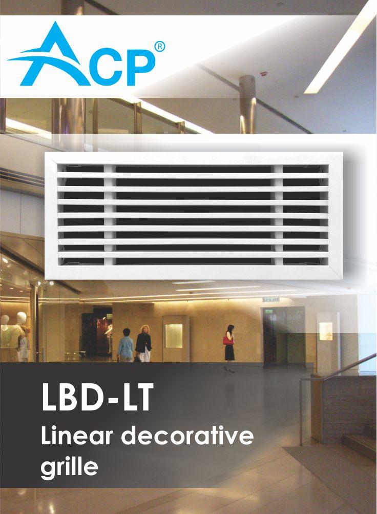 Linear decorative grille LBD-LT
