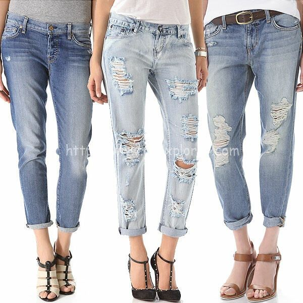 DIY: HOW TO DISTRESS JEANS AND LEAVE THE WHITE THREAD Trendy Kick off this season with ripped jeans. This season is all about rugged denims, bright colors and edgy graphics. The tough and distresse...