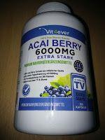 Produkttests und mehr: Acai Beere 6000mg - 360 Acai Berry Kapseln - 60 Ta...