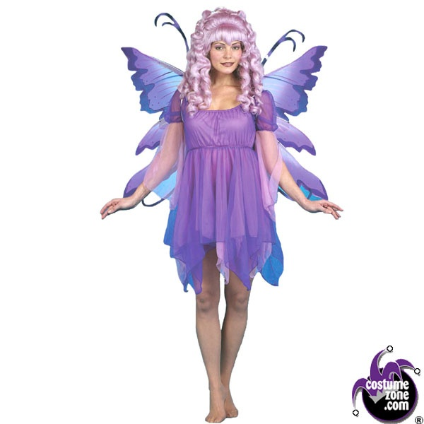 fairy dress purple costume womens adult regular size halloween costumes - Mystical Halloween Costumes