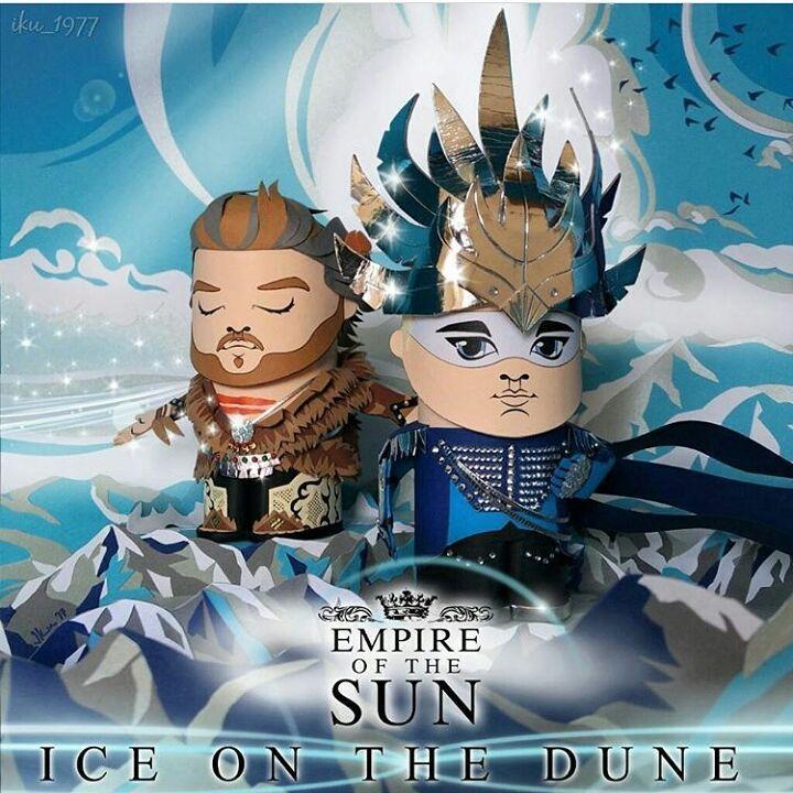 """63 """"Μου αρέσει!"""", 2 σχόλια - Empire of The Sun Greece (@greekempyreans) στο Instagram: """"ICE ON THE DUNE by @iku_1977 #paper_empire #empireofthesun #eots #iceonthedune #album…"""""""