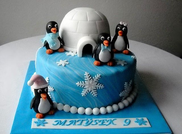 Best 25 Penguin Cakes Ideas On Pinterest Birthday Cakes