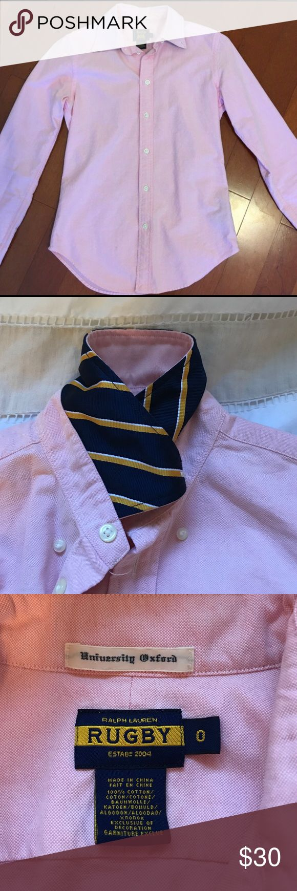 Ralph Lauren Rugby oxford shirt Ralph Lauren rugby oxford shirt 0 Ralph Lauren Tops Button Down Shirts