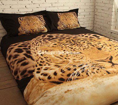 Leopard Cheetah Print Bedding Sets [101201000004] - $159.99 : Colorful Mart, All for Enjoyment