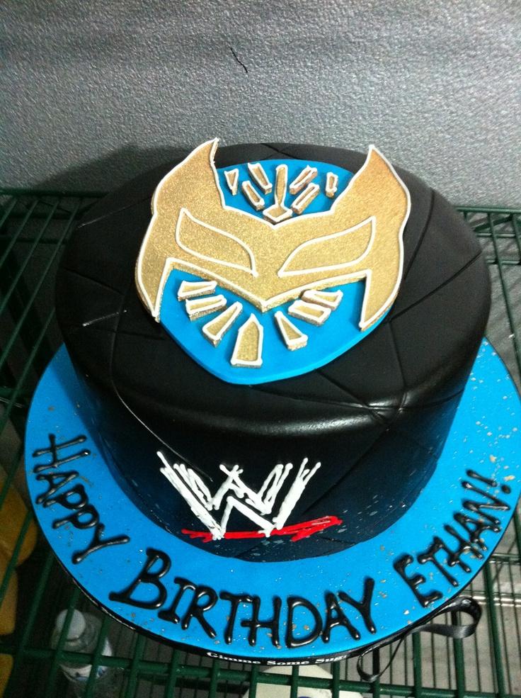 GSS wwe cake