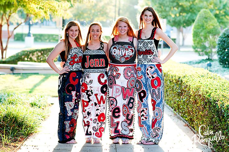 Fashion Friday: Coppell High School Senior Overalls