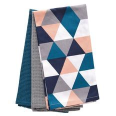 Living & Co Mixed Tea Towel Palm Springs 3 Pack