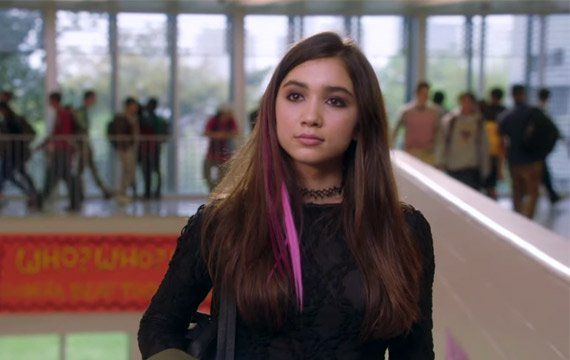 Girl meets edgy in the first look at Girl Meets World star Rowan Blanchard in her upcoming Disney original movie... Invisible Sister.