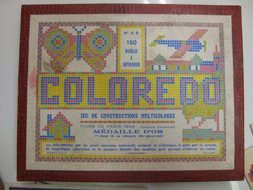 Coloredo ( jeu et jouet) donné par tata Viviane