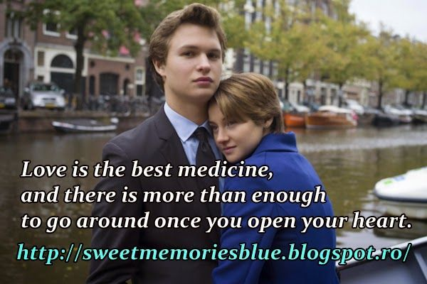 sweet memories: Love is the best medicine, and there is more than ...