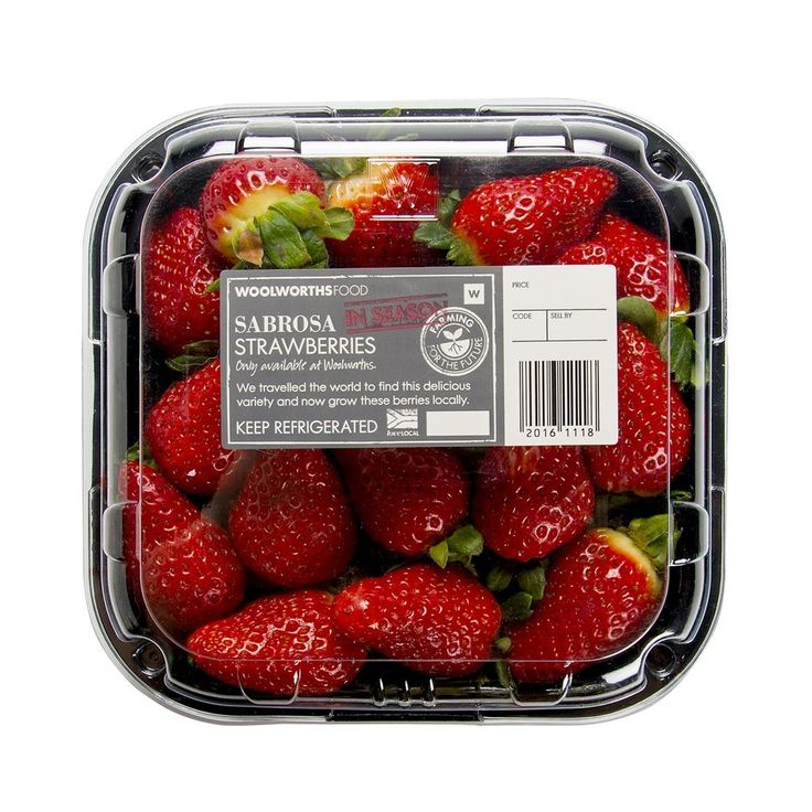 Sabrosa Strawberries 400g