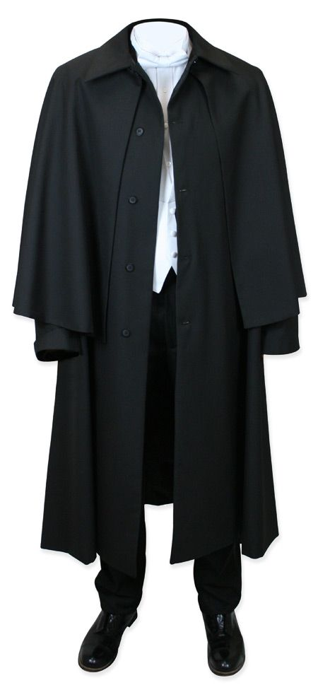 Inverness Dress Coat - Wool Blend