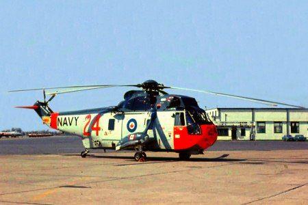 Sikorsky S-61A PSC-2 Sea King