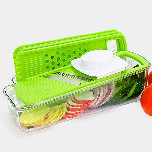 Multifunctional Shredder Chopper Fruit Vegetable Salad Grater - UniqueBuys