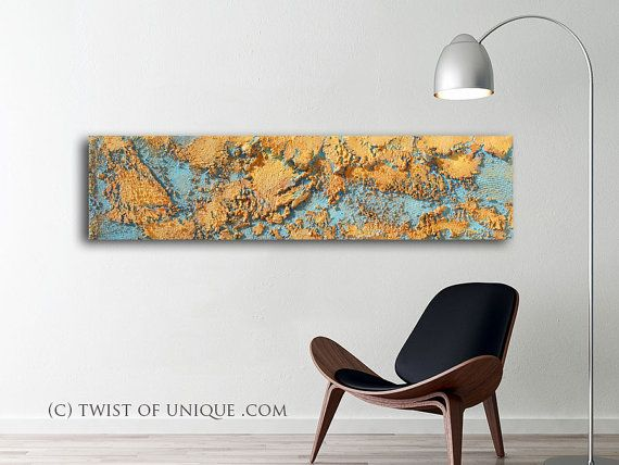Large sitting room Painting / ORIGINAL Abstract by TwistOfUnique