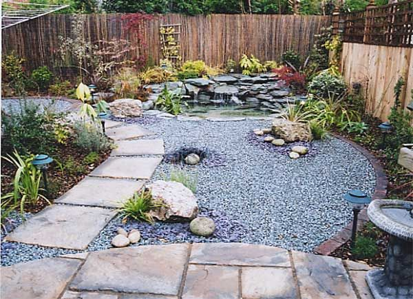 Low Maintenance Backyard Ideas low water landscaping photos low maintenance backyard small curve and round of grass and surrounded Find This Pin And More On Backyard Ideas Low Maintenance