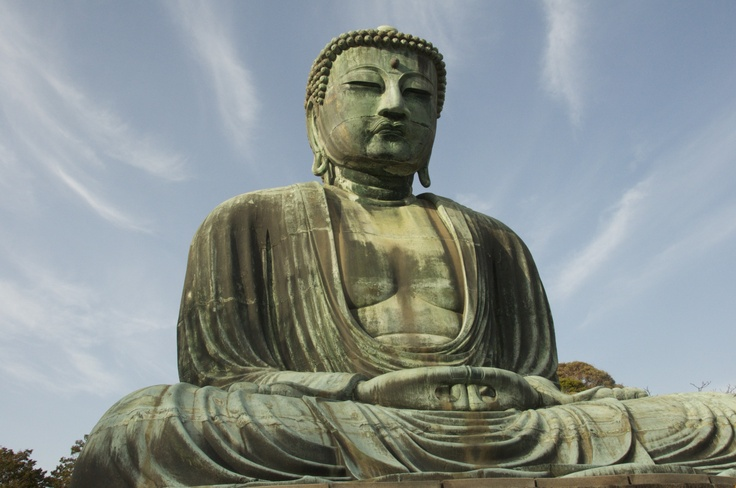 Great image of buddha Kamakura