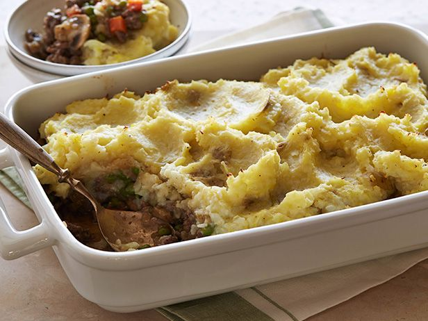 Cauliflower Shepherd's Pie Recipe : Ellie Krieger : Food Network add Worchestershire sauce