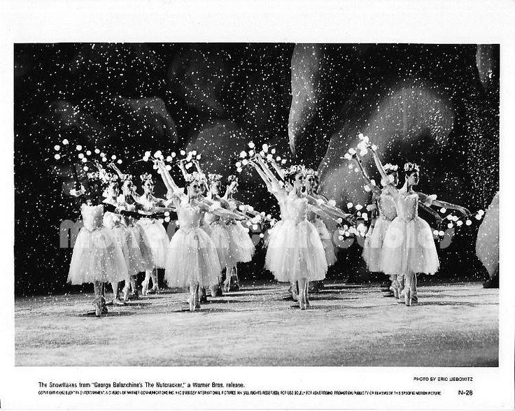 George Balanchine's The Nutcracker Movie Photo Snowflake Dancers still