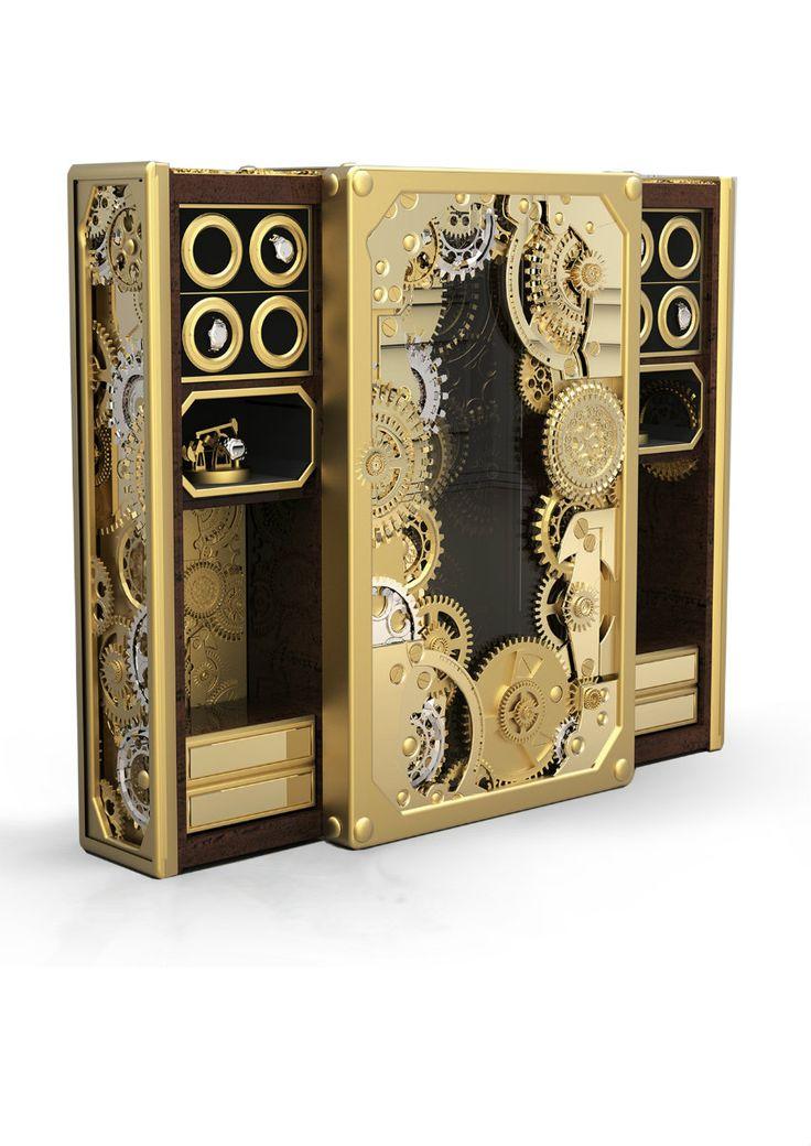 10-Luxus-Tresore-für-moderne-Zimmer  see more: http://wohn-designtrend.de/luxus-tresore-passend-moderne-zimmer/