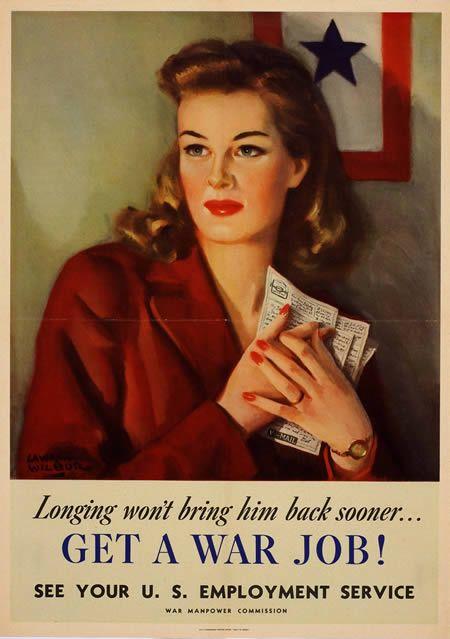 World War II Vintage Ads & Posters - Oddee.com (vintage advertisement posters)