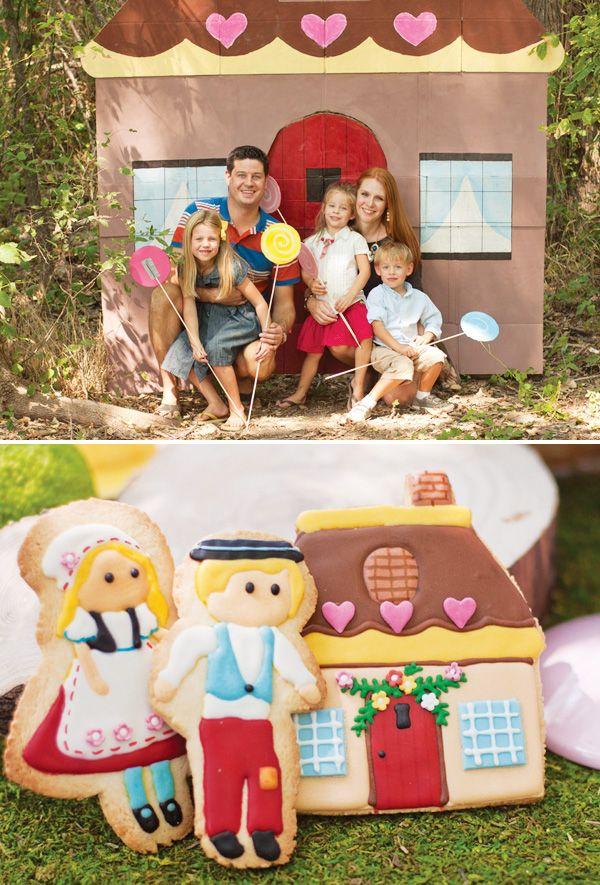 Modern Hansel and Gretel Inspired Woodland Birthday