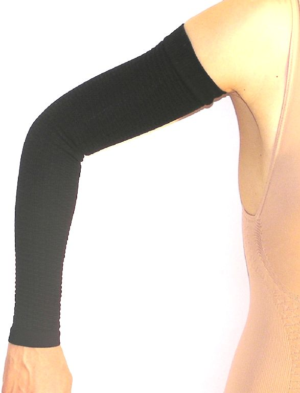 Anti Cellulite Compression Slimming Arm Sleeves – Lipedema Products