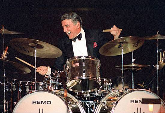Louie Bellson (Benny Goodman, Tommy Dorsey, Harry James, Duke Ellington, Jimmy Dorsey, Count Basie, Ella Fitzgerald, many others)
