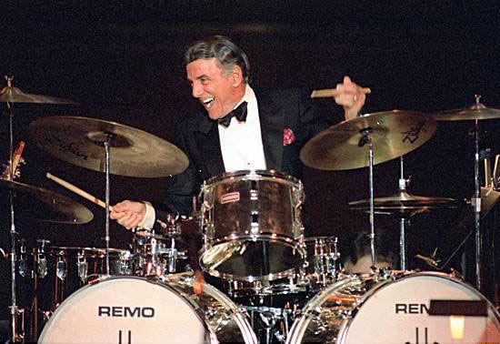 Louie Bellson (Benny Goodman, Tommy Dorsey, Harry James, Duke Ellington, Jimmy Dorsey, Count Basie, Ella Fitzgerald, many others)